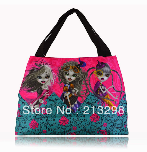 cartoon printing large zip bag for teenagers Mexico bra