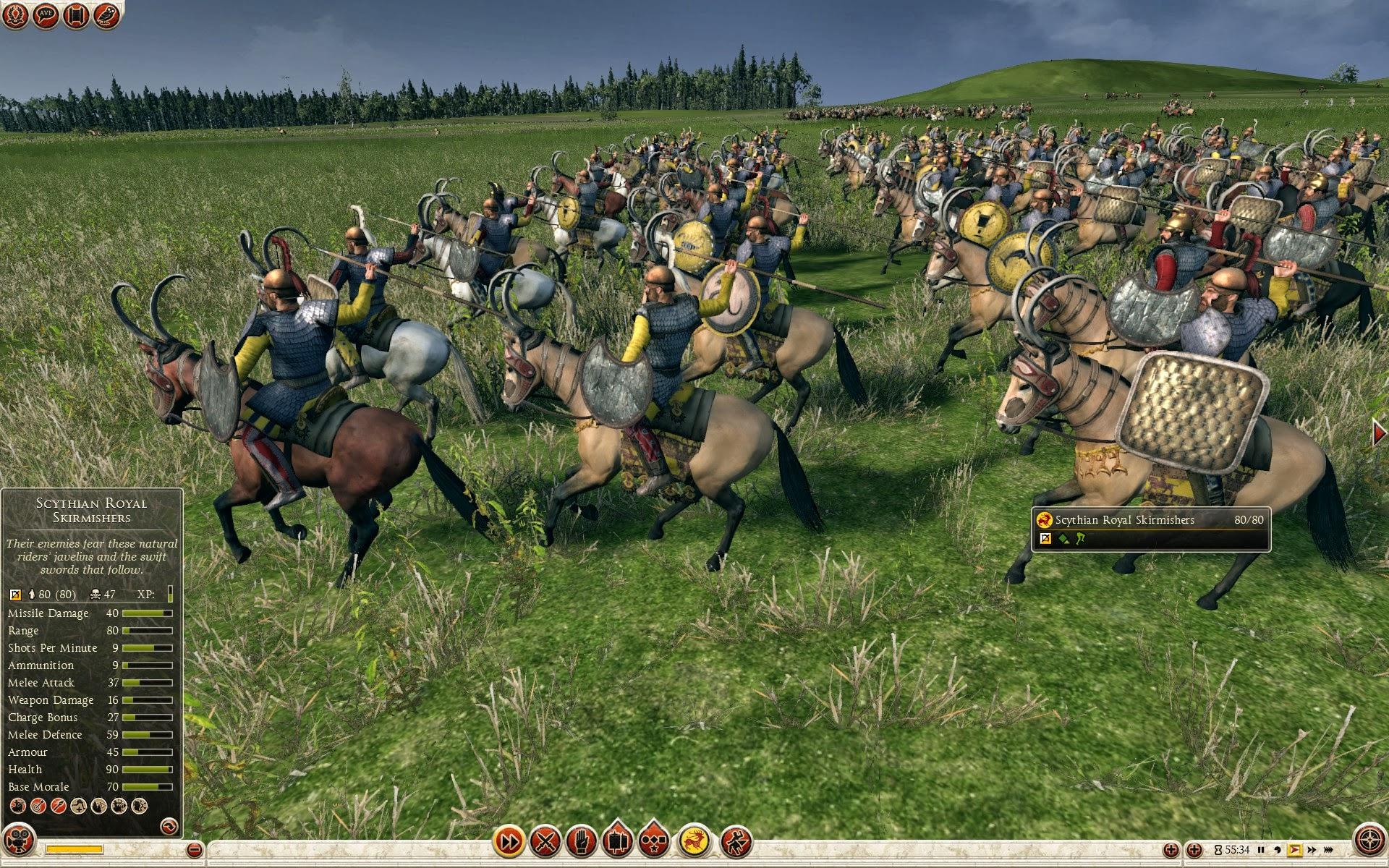Scythian Royal Skirmishers - Royal Scythia - Total War ...