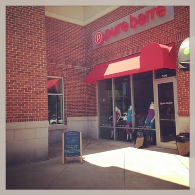 New mom weight loss with Pure Barre