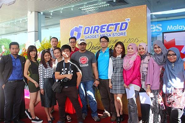 Bersama rakan blogger