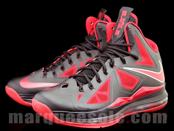 ... First Look at Nike LeBron X 10 in Black and Red With 6 ... 256e1e8e0f22