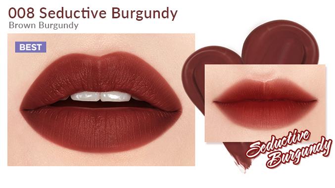Son Bấm I'm MEME I'm Tic Toc Tint Lip Velvet Seductive Burgundy