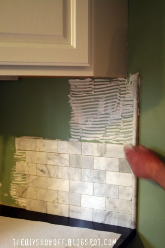 how to tile a backsplashdiy show off diy decorating