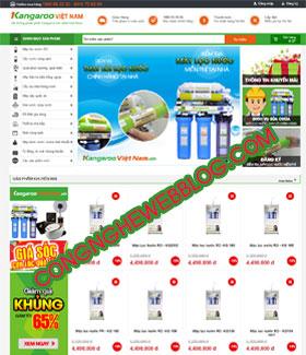 template ban hang dien lạnh cuc dep cho blogspot