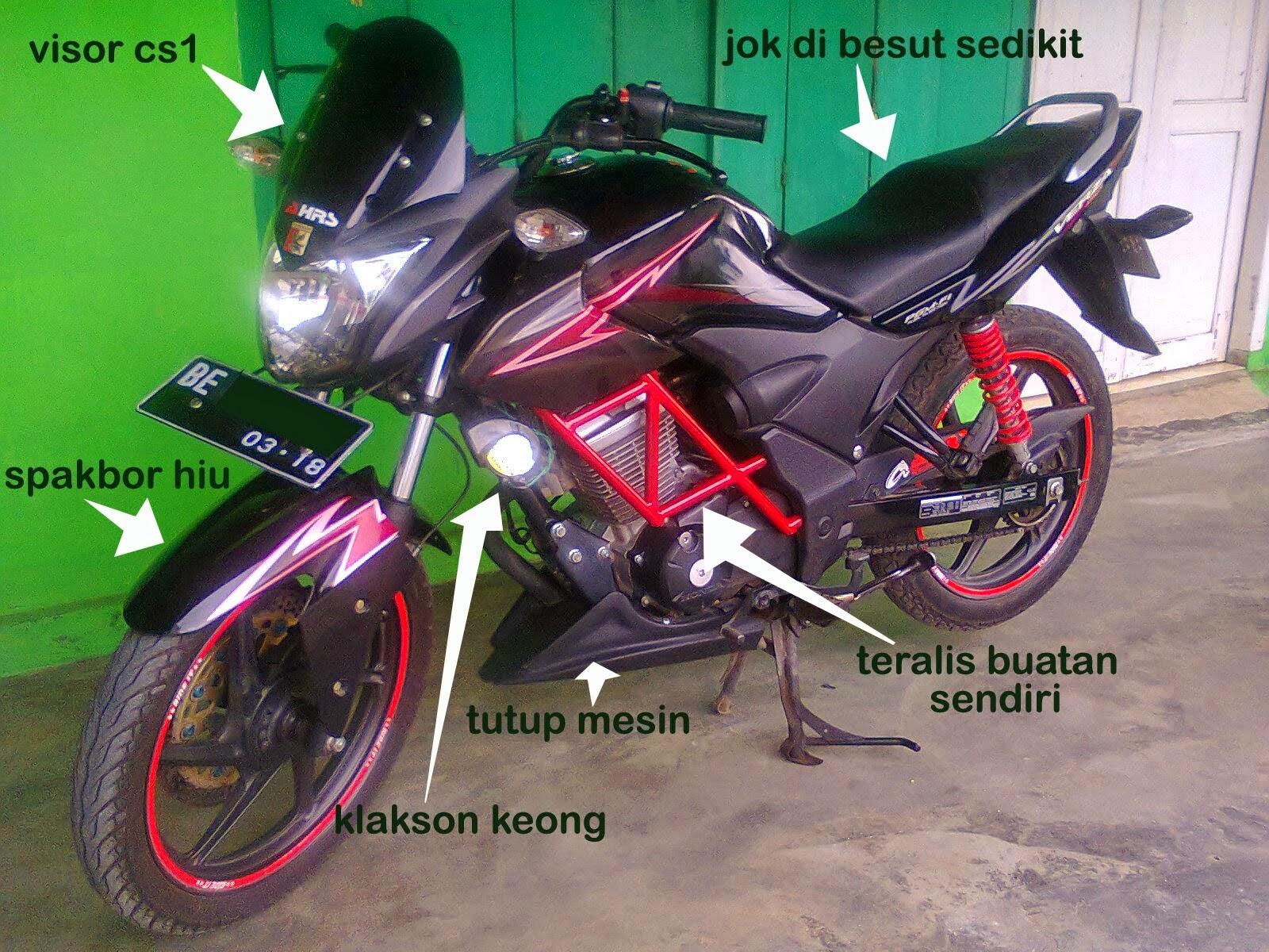 Honda Verza Modifikasi Sport