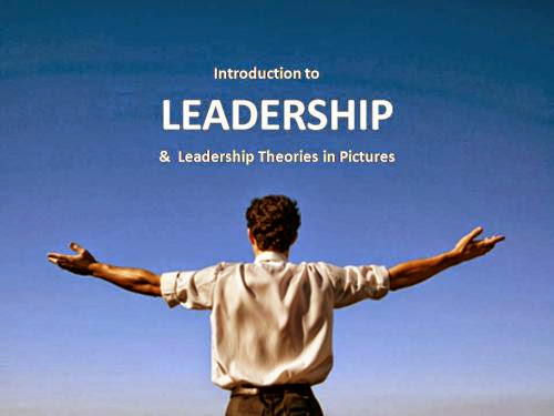 Ppt Slides Introduction To Leadership And Theory In Pictures