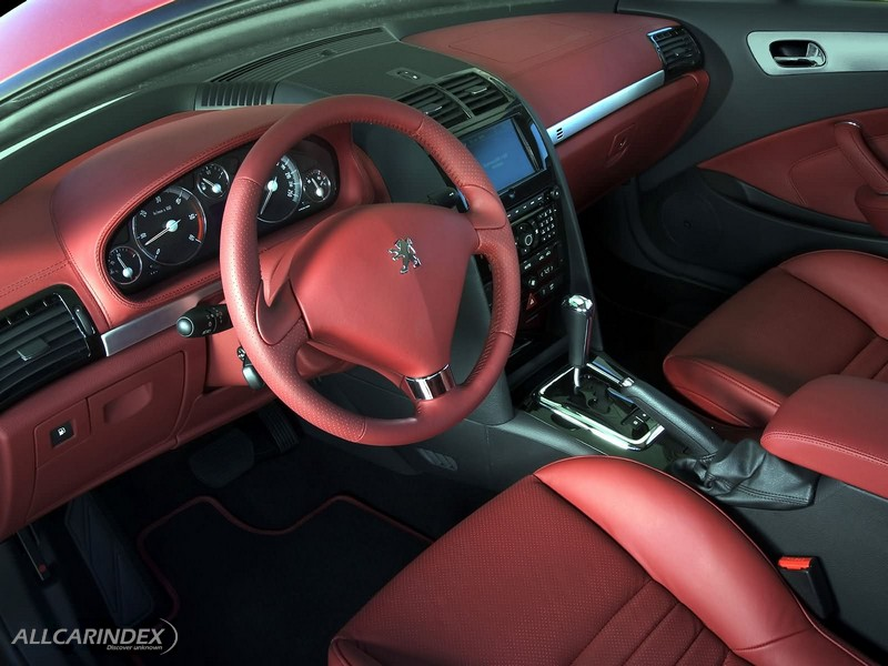 Peugeot for Interieur 407