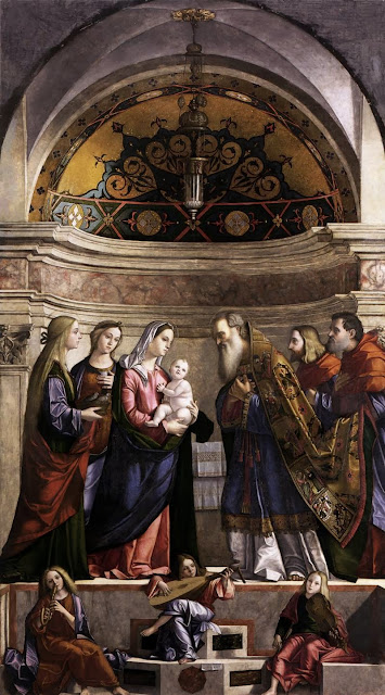 Vittore Carpaccio - Presentation of Jesus in the Temple