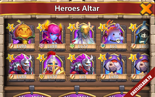 Buy sell account castle clash
