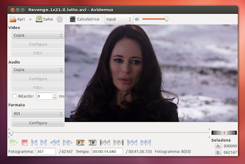 Avidemux 2.6 su Ubuntu