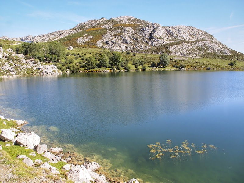 Lago Enol, one of the lakes in Covadonga