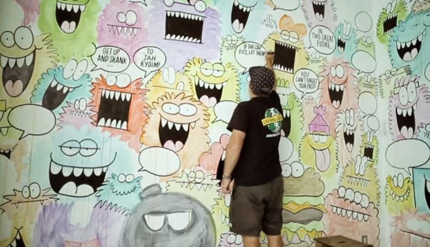 #Stüssy Guest Artist聯名合作系列:Kevin Lyons分享創作靈感影片! 3