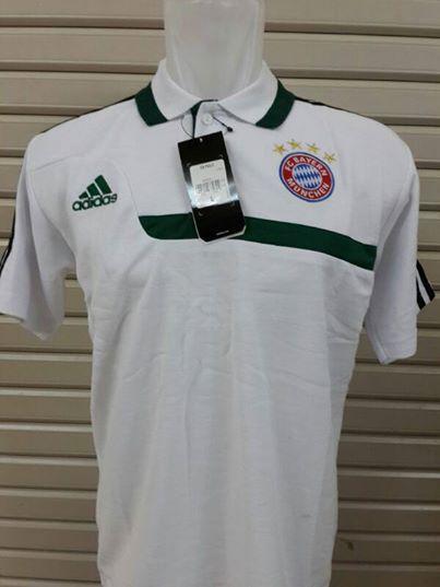Jual Kaos Polo Bayern Munchen Away Terbaru 2014