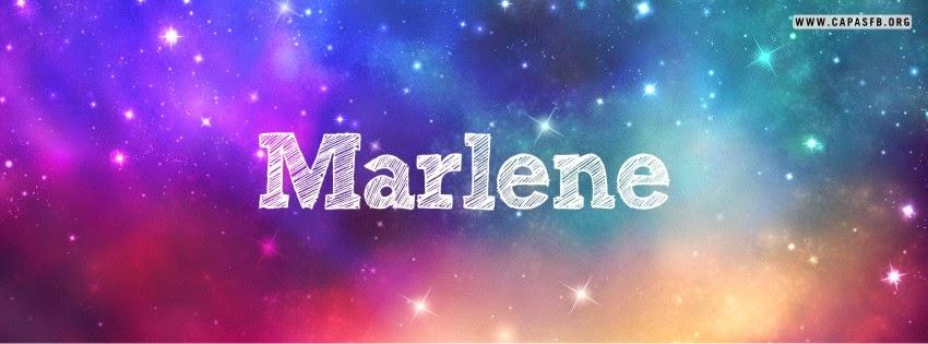 Capas para Facebook Marlene