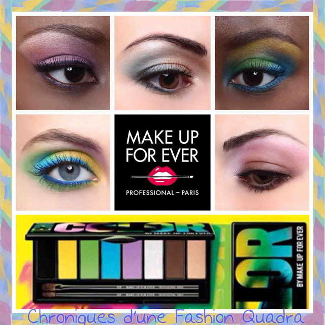 Palette Technicolor De Make Up For Ever