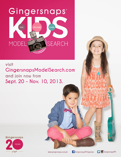 Gingersnaps Kids Model search 2013