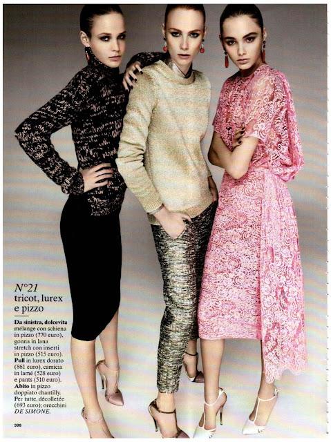Look of the season- Glamour Italia