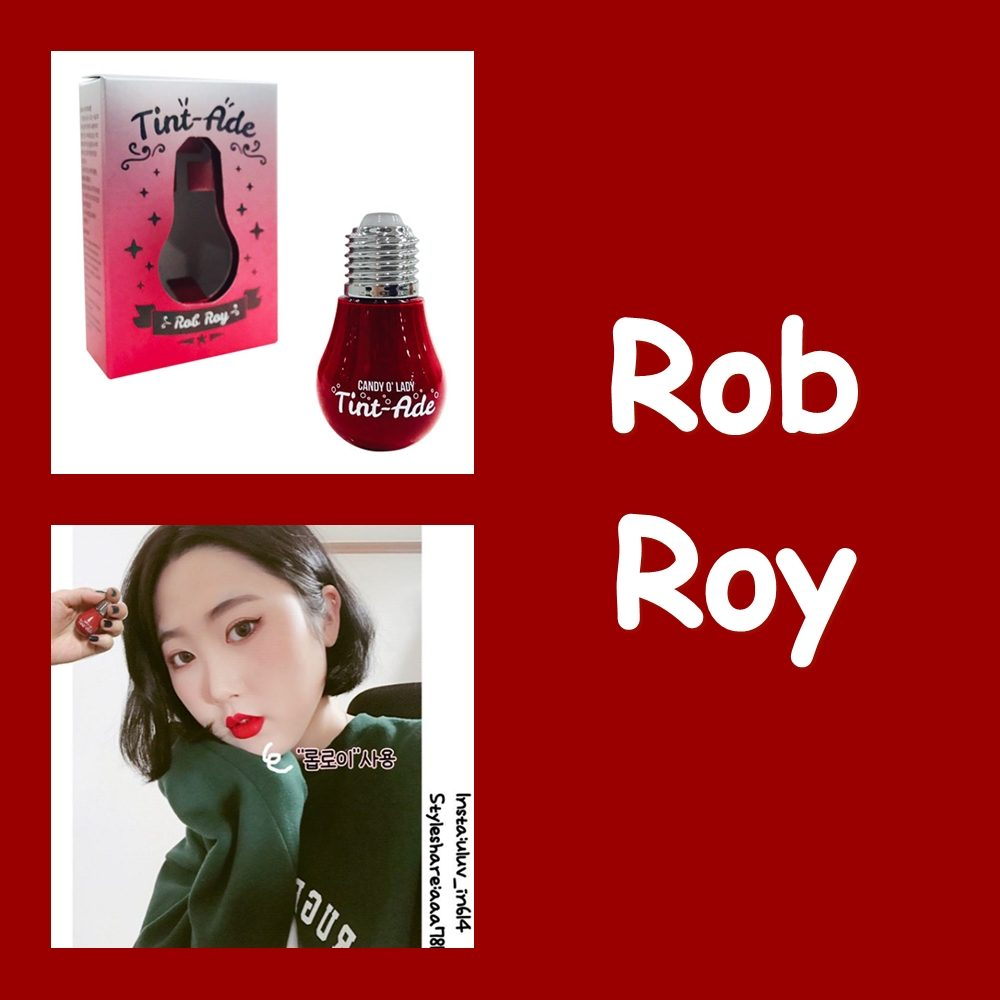 Son bóng đèn Candy O' Lady Tint-Ade Rob Roy