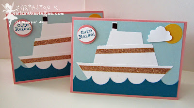 stampin up, grand vacation, kreuzfahrtschiff, cruise liner, up up and away, törtchenstanze, cupcake punch, Luftpost