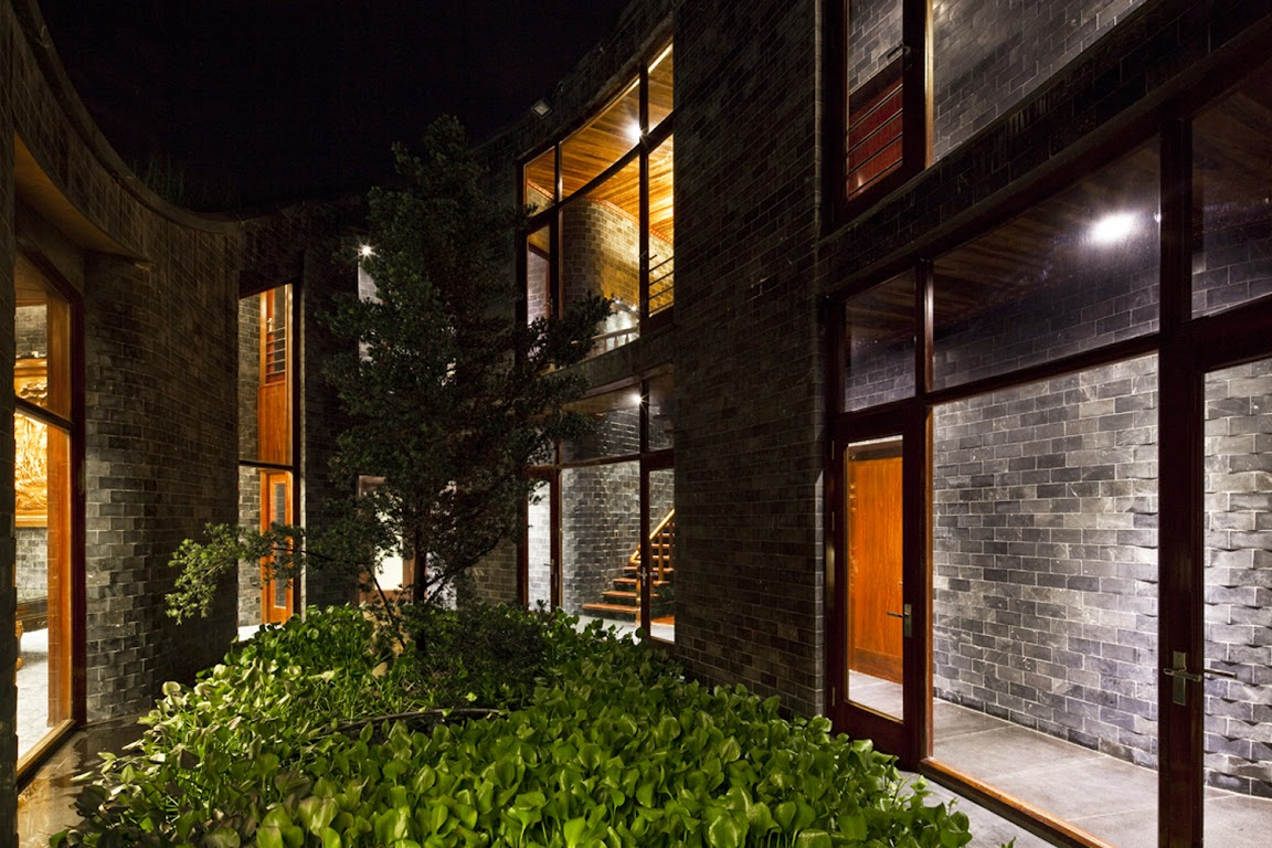 Stone House  design by Vo Trong Nghia Architects