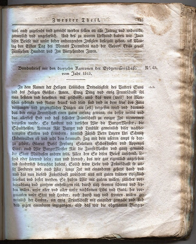 Page 125 de la Transcription de 1817