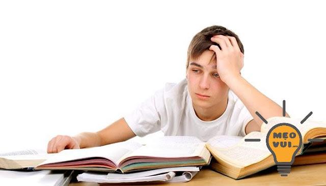 Cách giải tỏa căng thẳng do áp lực học tập