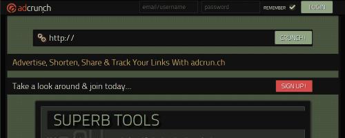 Free URL Shortener Service – Adcrunch
