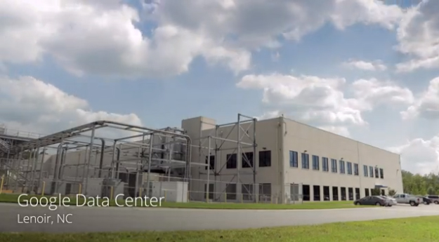Tour Google- data center with Street View - Video