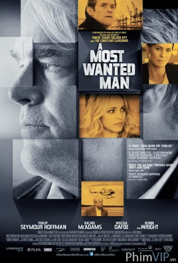 Truy Nã Gắt Gao - A Most Wanted Man poster