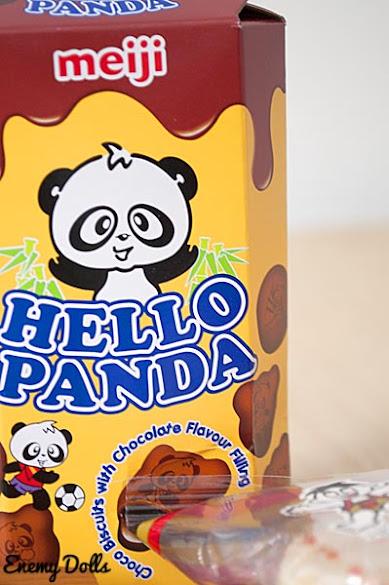 Galletas Meiji Hello Panda