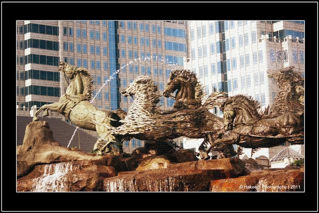 Arjuna Wijaya Horse Statue