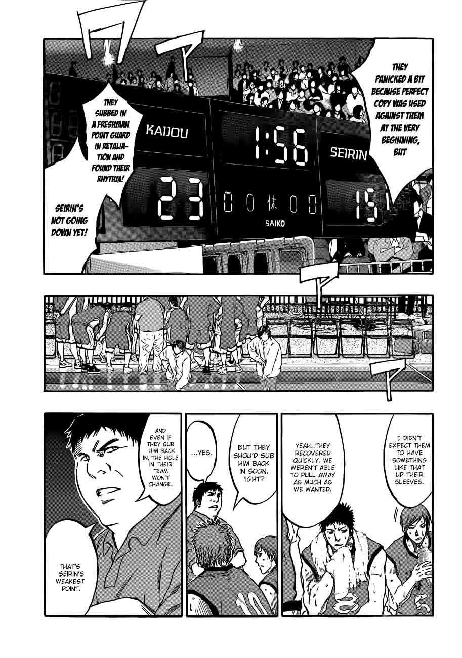 Kuroko no Basket Manga Chapter 188 - Image 05