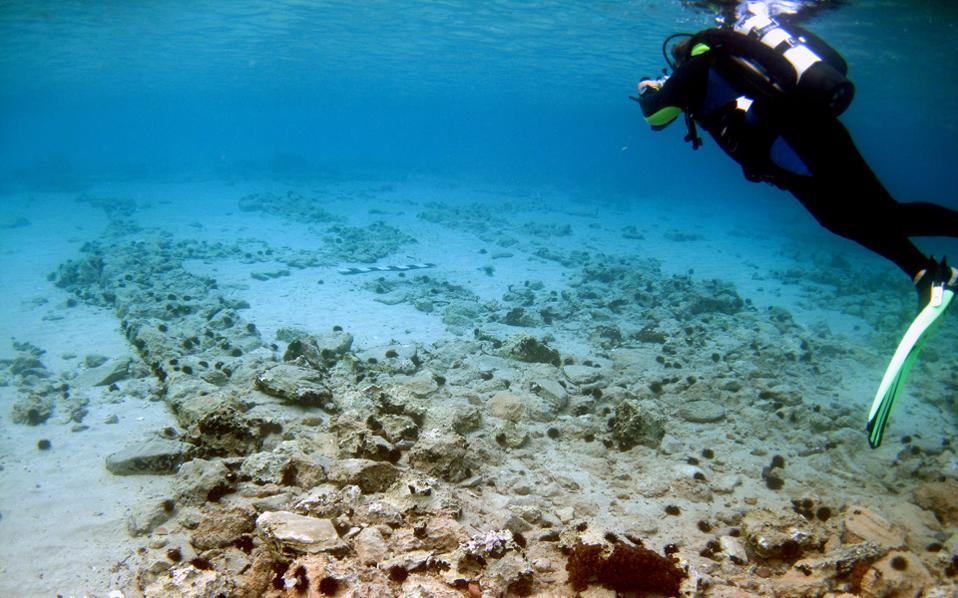 Southern Europe: Ancient underwater city of Pavlopetri at risk