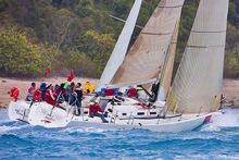 J/133 racer cruiser sailboat- sailing Hamilton Race Week Australia