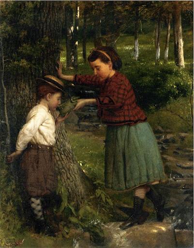 Seymour Joseph Guy - At the Brook