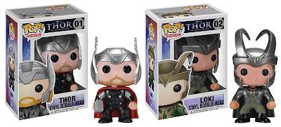 Thor Movie Pop! Marvel Vinyl Figures by Funko - Thor & Loki