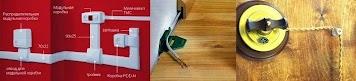 открытая электрическая проводка в деревянном доме