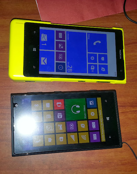 Lumia 1020 Yellow vs. Lumia 1020 Black