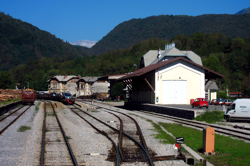 Most na Soči train station