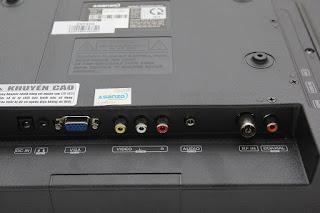 Các cổng kết nối khác Tivi Led Asanzo 25 inch Model 25S200T2 (New)