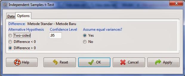 option+independent+sample+t+test