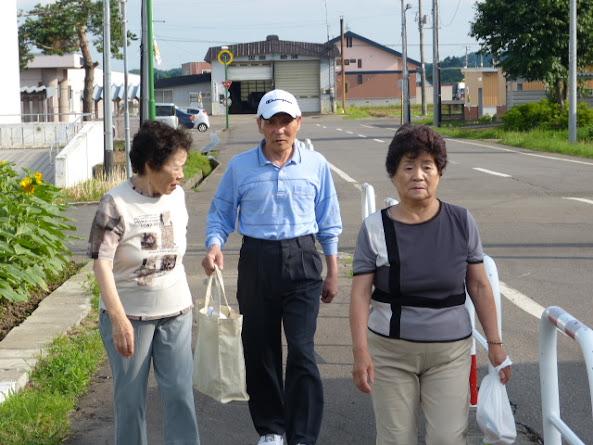 飯田さんも向かいます