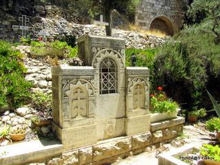 Русское кладбище в Гефсимании. Экскурсия Иерусалим православный. Гид в Иерусалиме Светлана Фиалкова.