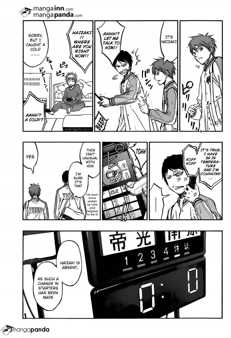 Kuroko no Basket Manga Chapter 208 - Image 05