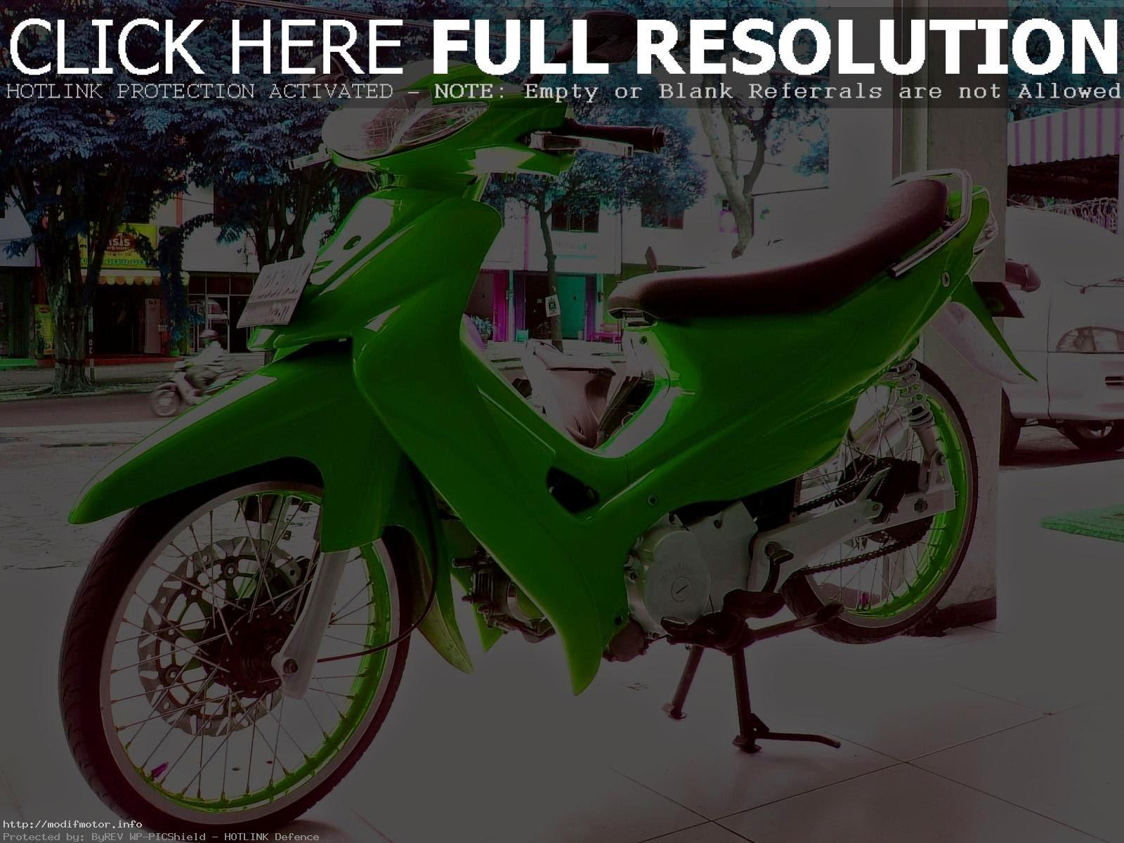 Motor Suzuki Shogun Modifikasi