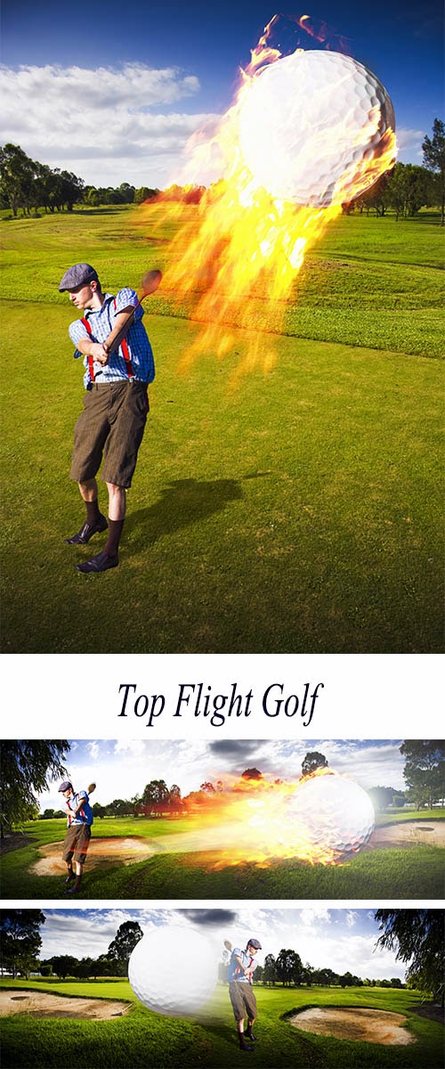 Stock Photo: Top Flight Golf
