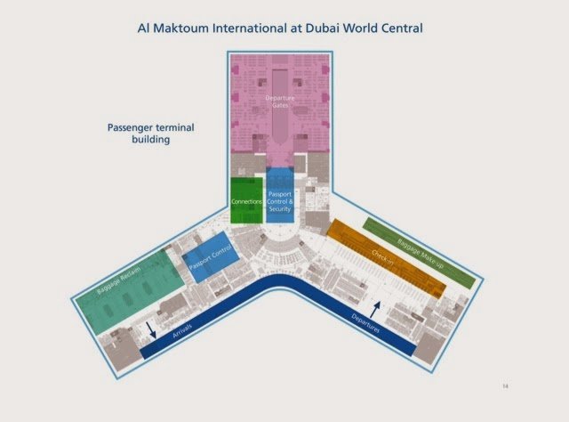 Dwc Airport Map about Airport Planning: Passenger Teminal at Al Maktoum