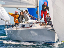 J/105 sailing Chilean Nationals