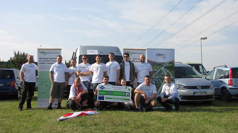 Polska grupa entuzjastów CNG na Erdgasfahrertag 2011