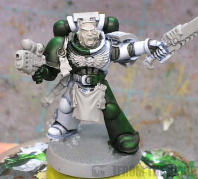 how to shade quartered space marine schemes